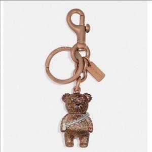 NWT Star Wars X Coach Chewbacca Bear Bag Charm